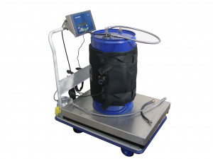 200L or 60L drum loading system with balance