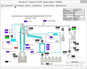 GECDIST V7 Software for distillation units